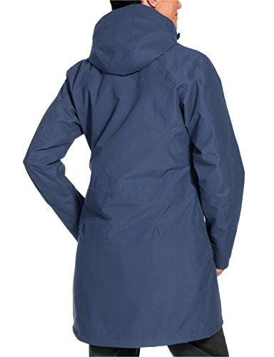 Jack Wolfskin Damen 3-in-1 Mantel Ottawa Coat Blue Indigo