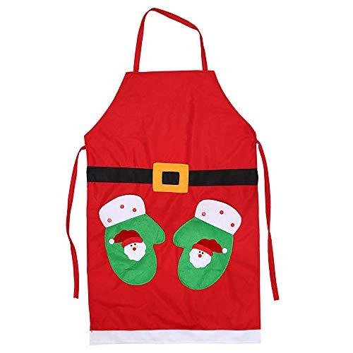Vestir delantal cocina Navidad ropa rendimiento fiesta