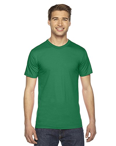 American Apparel Fine Jersey Short Sleeve T-Shirt Kelly Green
