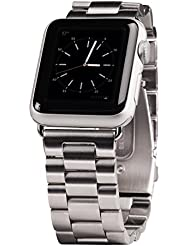 Hama 42mm Stahl Armband für Apple Watch