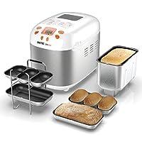 IMETEC ZERO-GLU - Panificadora para hacer pan y dulces en casa sin gluten y mucho más, 920 W de Imetec