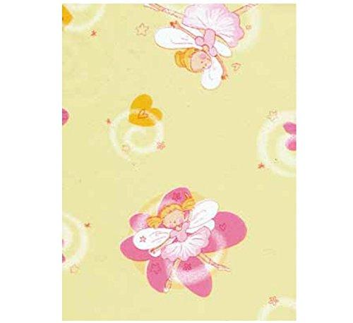 (Klebefolie - Möbelfolie Fee Ballerina pastell - 45 cm x 200 cm Selbstklebefolie mit Motiv Elementen - dekorative selbstklebende Folie für Mädchen)