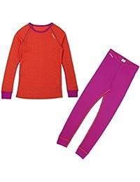 Odlo Kinder Set Shirt Long Sleeve Pants Warm Kids