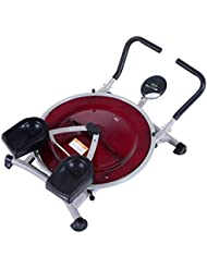 HOMCOM Mini Circle AB Fitness Abdominal Exercise Machine w/LCD Display Thigh Waist Workout by Homcom