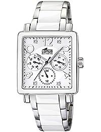 Lotus Ladies 15738 1 Reloj de Pulsera para mujeres Con elementos de cerámica 55ea948875ac