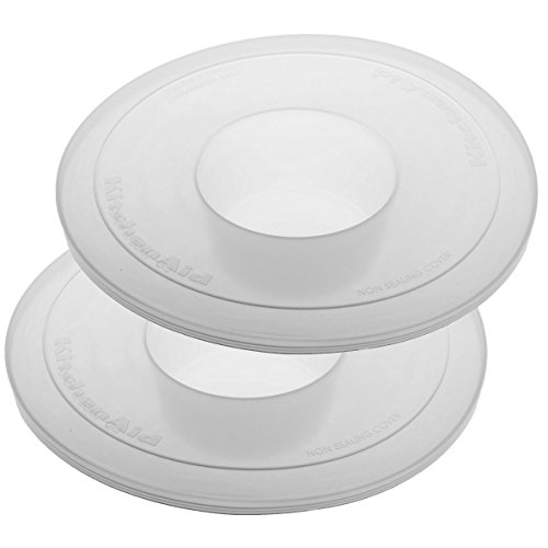 KitchenAid KBC90N Mixer Bowl Covers For Pivot Head Stand Mixer Bowls, Set Of 2