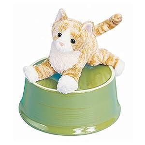Cuddle Toys 1712 - Juguete para Gato, diseño de Rayas, Color Naranja
