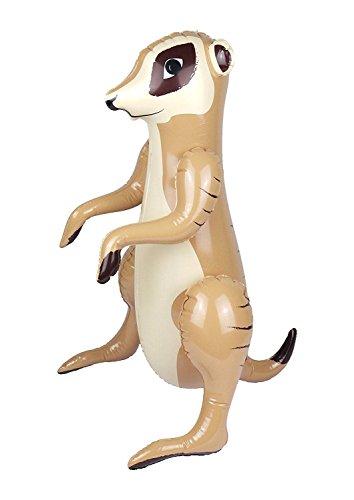 Islander Fashions Aufblasbare Erdm�nnchen Phantasie Prop Party Spielzeug Zubeh�r Kinder Blow Up Safari Niedlichen Tier 59 cm (Blow Tiere Up)