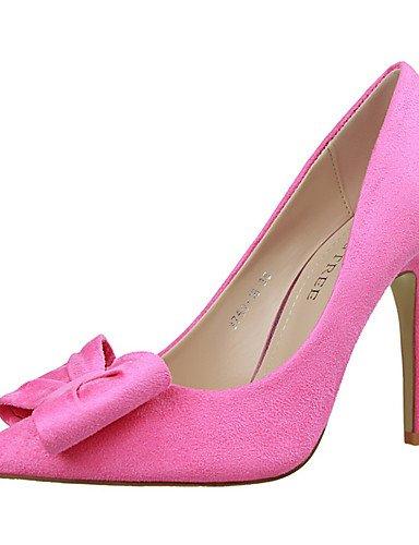 WSS 2016 Chaussures Femme-Extérieure / Bureau & Travail / Soirée & Evénement-Noir / Rose / Rouge / Gris / Fuchsia-Talon Aiguille-Talons / Bout red-us5.5 / eu36 / uk3.5 / cn35