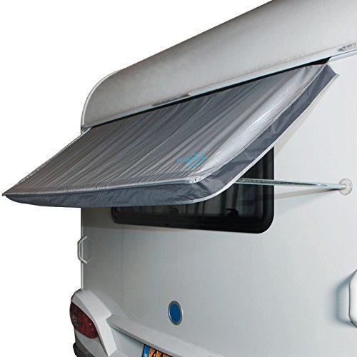 Hummelladen BO-Camp Caravan Fenster Markise Camping Wohnwagen Sonnen Schutz Keder 180 x 75 cm