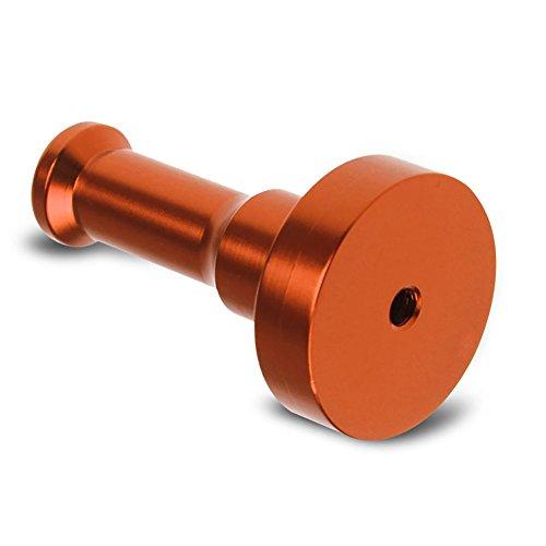 Bbl345dLlo Hakenleiste Handtücher Kleiderhaken, Metallic Wall Hook Bathroom Door Clothes Hat Bag DIY Towel Hanger Rack Holder Orange -