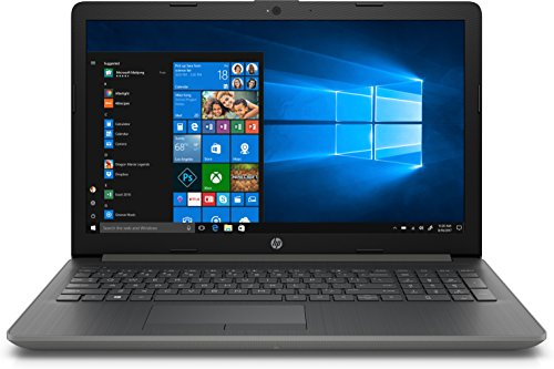 """HP 15-da0102nl Notebook, Intel Core i3-7020U, 8 GB di RAM, SATA da 1 TB, Schermo HD Retroilluminato a WLED 15.6"""", Grigio Fumo"""