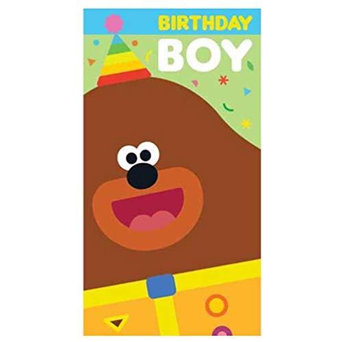 Zippy and George HD005 Geburtstagskarte für Jungen, Motiv Hey Duggee (Party Supplies George)