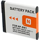 Batterie compatible pour SONY CYBER-SHOT DSC-TX30