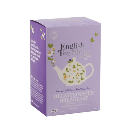 English Tea Shop – Englisch Breakfast (ENTKOFFEINIERT), BIO, 20 Teebeutel