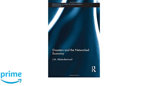 Disasters and the Networked Economy (Routledge Studies in Development Economics)