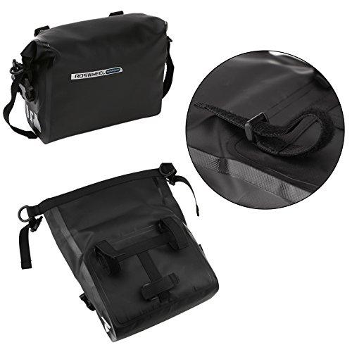 DCCN Fahrrad Lenkertasche Wassdichte Satteltasche Handy Tasche für Mountain Bike No.3 Lenkertasche