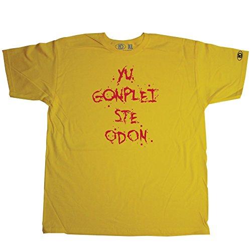 Nicram Designs Herren T-Shirt mehrfarbig mehrfarbig Gelb
