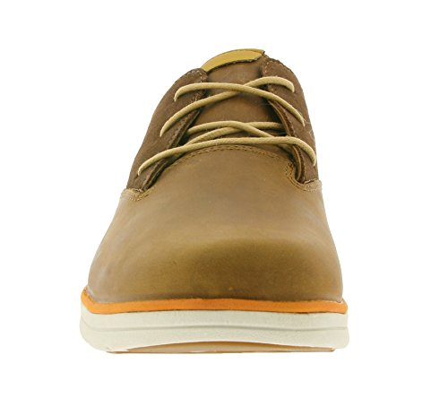 Timberland Bradstreet Pt Oxfordglazed Ginger Euro Veg, Baskets Basses Homme Marron