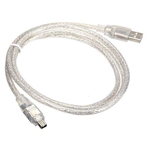 Cablecc USB maschio a firewire IEEE 13944pin maschio Ilink cavo adattatore cavo per Sony dcr-trv75e DV