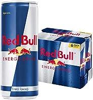 Red Bull Enerji İçeceği, 250 ml (6'lı Paket, 6x250