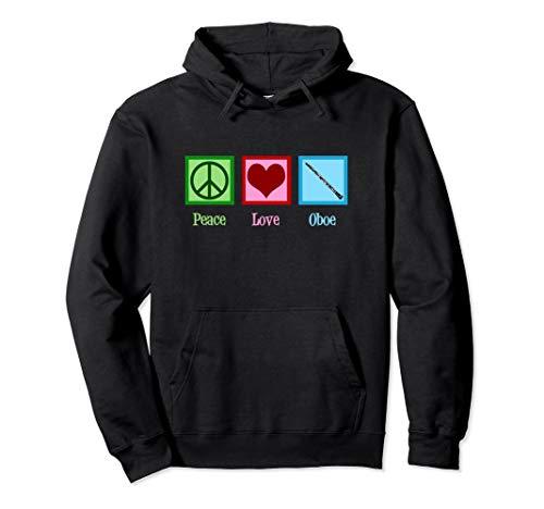 Peace Love Oboe Pullover Hoodie