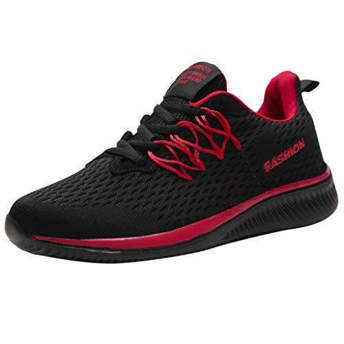 iHAZA Herren Turnschuhe Beiläufig LeichtGemütlichAtmungsaktiv Gehen Laufschuhe Y3 Mesh Sneakers