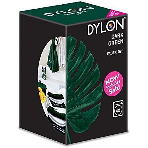 DYLON Dark Green Machine Dye 350g Includes Salt by Dylon