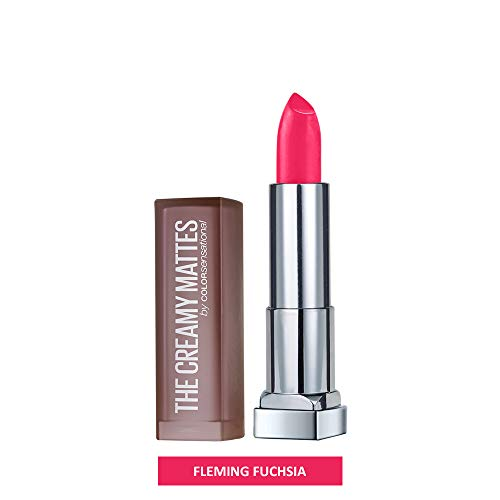 Maybelline New York Color Sensational Creamy Matte, 630 Flaming Fuchsia, 3.9g
