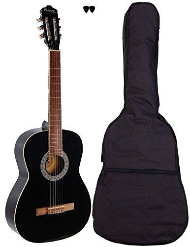 Sant CL-50-BK - klassische Gitarre in voller Größe - mit Tasche (Spanisch In Größe)