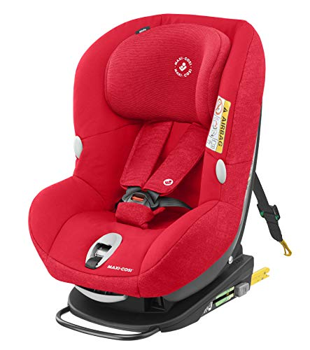 Maxi-Cosi 8536586110 Maxi-Cosi MiloFix - Reboarder Kindersitz, Gruppe 0+ /1 (0-18 kg), Kinderautositz mit Isofix, Nomad Red (rot), rot