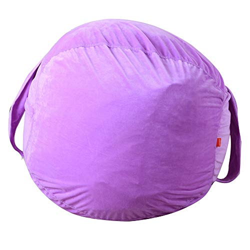 Stuffed Animal Bean Bag - Designer Bean Bag - Stuffed Animal Storage Bean Bag Stuhl für Kinder,...