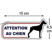 "Sticker Autocollant "" Attention au Chien """