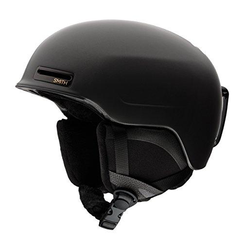 Smith Damen Helm Allure Skihelm, Schwarz Hochglanz, 55-59