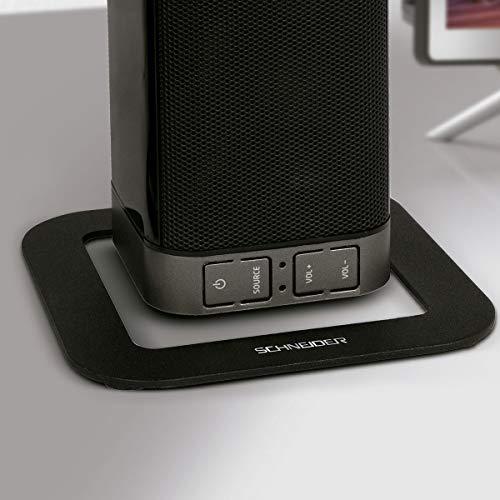 41Kj1fI4D2L - Schneider Consumer - Barra de sonido Modular SC500SND, Soundbar 2.0, 30W (15W x 2), Bluetooth, Negro