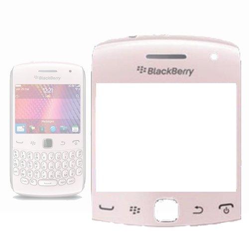 TECHGEAR Blackberry 9360 Curve Ersatzbildschirm Objektiv in Baby/Hell Pink - Austausch kaputter/Displayglas für Blackberry Curve Fall
