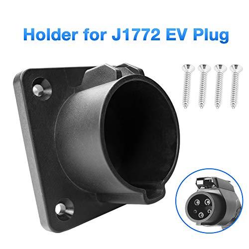Morec EV Ladegerät Halter Dock für Typ 1 EVSE J1772 Anschluss Elektrofahrzeug Ladegerät Stecker Halter Aufbewahrung