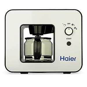 haier skl d003 machine caf automatique avec plaque chauffante int gr e cafeti re 4 tasses. Black Bedroom Furniture Sets. Home Design Ideas
