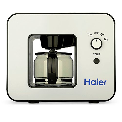 Haier SKL-D003 - Cafetera automática, Máquina de café con capacidad de 4 tazas, Negro