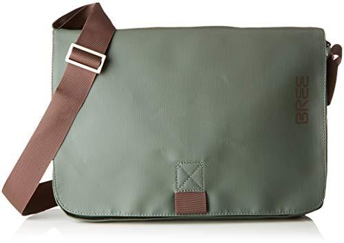 BREE Unisex-Erwachsene Punch 62, Climbing Ivy, Shoulder Bag W18 Schultertasche, Grün, 24x8x34 cm -