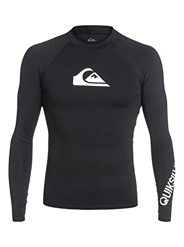 Quiksilver Herren All Time L/sl Surf Tee, Black, S