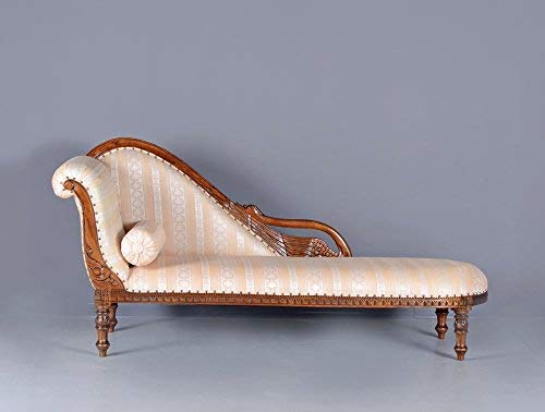 SCHWANEN Sofa Vintage CHAISELONGUE ENGLISCHE RECAMIERE Empire Palazzo Exclusiv