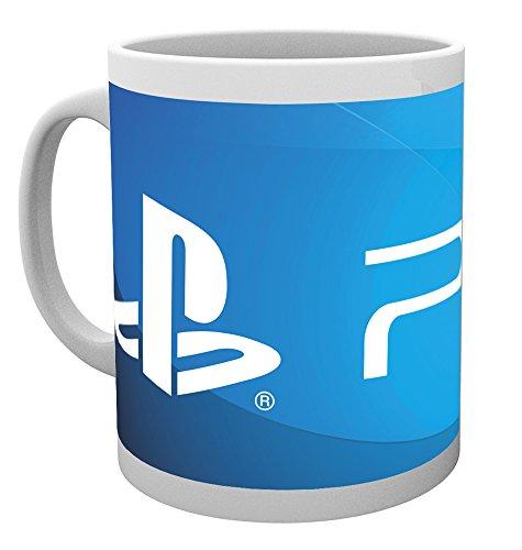 ABYstyle Mug Playstation Logo PS4, Keramik, Multicolored, 12 x 12 x 0.38 cm (Ps4 Playstation Home)