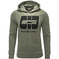 Jack & Jones Herren Hoodie Sweatshirt Pullover Kapuzenpullover
