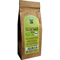 BIO Fair Trade, China Green Tea Chun Mee 1 kg (frachtfreie Lieferung innerhalb Deutschlands ab 20 EUR Einkaufswert)