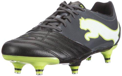 Puma PowerCat 3.12 SG 102477 Herren Sportschuhe - Fußball Schwarz (black-dark shadow-white-lime punch 02)