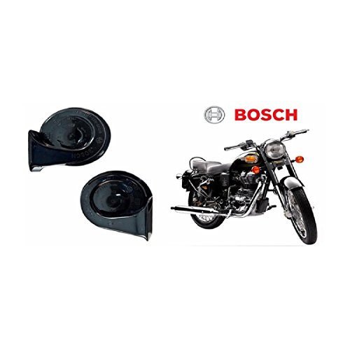 Bosch Bike Symphony Fanfare Horn 028 (Set of 2)-Bullet 500 EFI  available at amazon for Rs.660