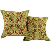 Home Decor Green Set di 2 Tradizionale