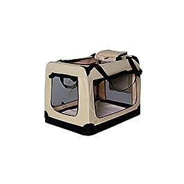 Dibea Cane trasporti Box, trasportino, Pieghevole Trasporto Crate, Auto Cassette, Small Animal Carrier