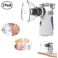 Preisvergleich für Tragbar Inhalator Vernebler,Therapie Atemwegserkrankungen Mundstück Asthma Ultraschall Inhalationsgeräte,Inhaliergerät...